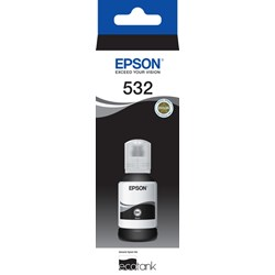 Epson EcoTank T532 Ink Refill Kit - Black - Inkjet