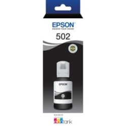 Epson EcoTank T502 Ink Refill Kit - Black - Inkjet