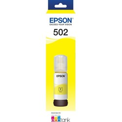 Epson EcoTank T502 Ink Refill Kit - Yellow - Inkjet