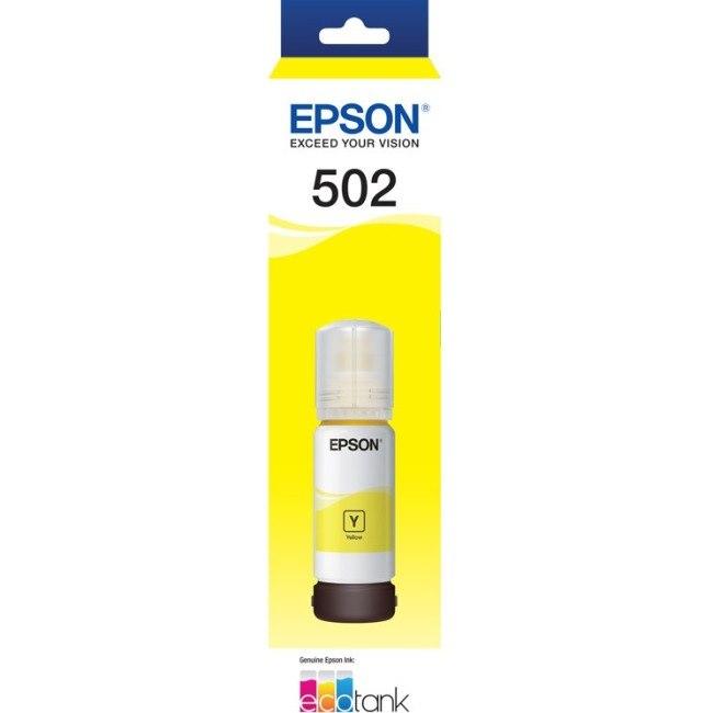 Epson EcoTank T502 Ink Refill Kit - Yellow - Inkjet