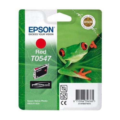 Epson UltraChrome T0547 Original Ink Cartridge - Red