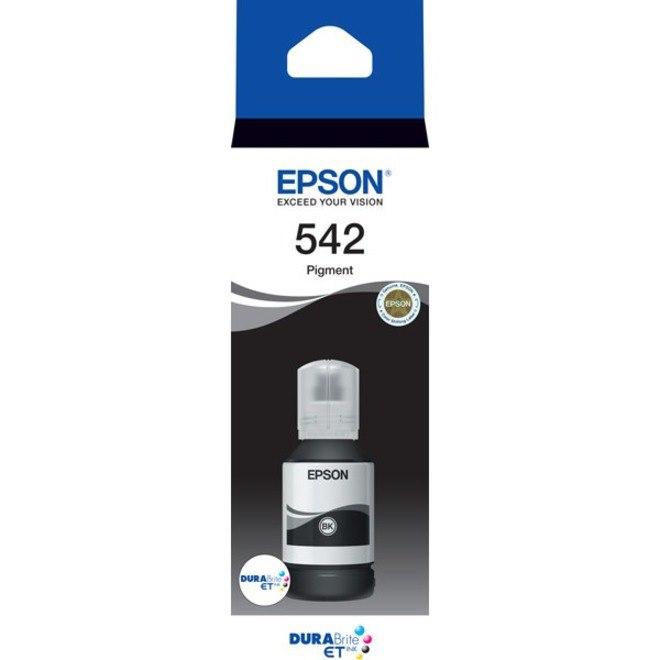 Epson DURABrite EcoTank T542 Ink Refill Kit - Black - Inkjet