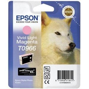 Epson UltraChrome T0966 Original Ink Cartridge - Light Magenta