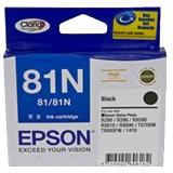 Epson No. 81N Original Ink Cartridge - Black