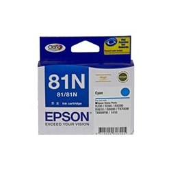 Epson No. 81N Original Ink Cartridge - Cyan
