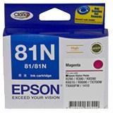 Epson No. 81N Original Ink Cartridge - Magenta