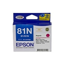 Epson No. 81N Original Ink Cartridge - Magenta