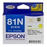 Epson No. 81N Original Ink Cartridge - Yellow