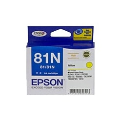 Epson No. 81N Ink Cartridge - Yellow