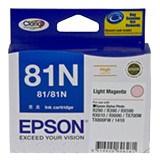 Epson No. 81N Original Ink Cartridge - Light Magenta
