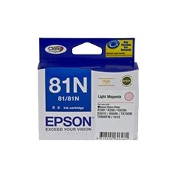 Epson No. 81N Original Ink Cartridge - Light Magenta