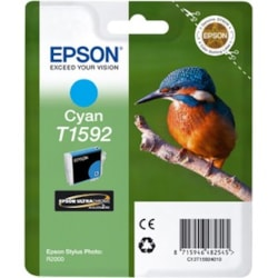 Epson UltraChrome Hi-Gloss2 T1592 Original Ink Cartridge - Cyan