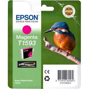 Epson UltraChrome Hi-Gloss2 T1593 Original Ink Cartridge - Magenta