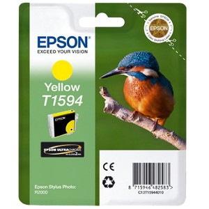 Epson UltraChrome Hi-Gloss2 T1594 Original Ink Cartridge - Yellow