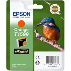 Epson UltraChrome Hi-Gloss2 T1599 Original Ink Cartridge - Orange