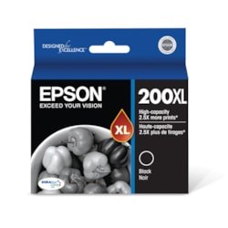 Epson DURABrite Ultra 200XL Original Ink Cartridge - Black