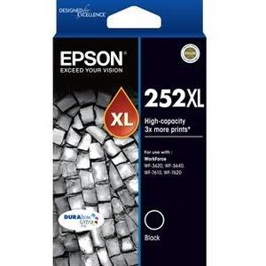 Epson DURABrite Ultra 252XL Original Ink Cartridge - Black