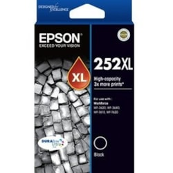 Epson DURABrite Ultra 252XL Original Ink Cartridge - Black