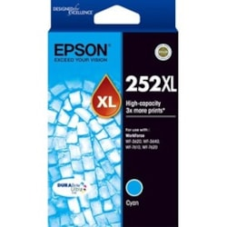Epson DURABrite Ultra 252XL Original Ink Cartridge - Cyan