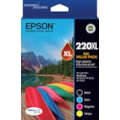 Epson DURABrite Ultra 220XL Ink Cartridge - Black, Cyan, Magenta, Yellow