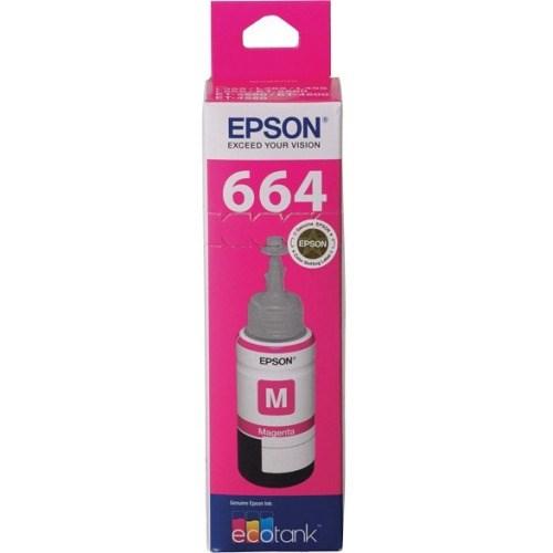 Epson T664 Ink Refill Kit - Magenta - Inkjet