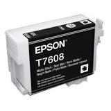 Epson UltraChrome HD T7608 Original Ink Cartridge - Matte Black