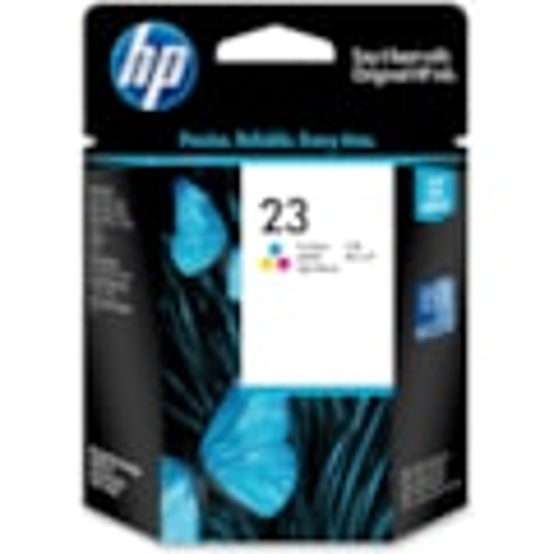 HP 23 Original Ink Cartridge - Yellow, Cyan, Magenta