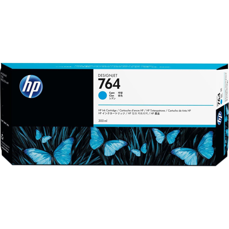 HP 764 Original Ink Cartridge - Cyan