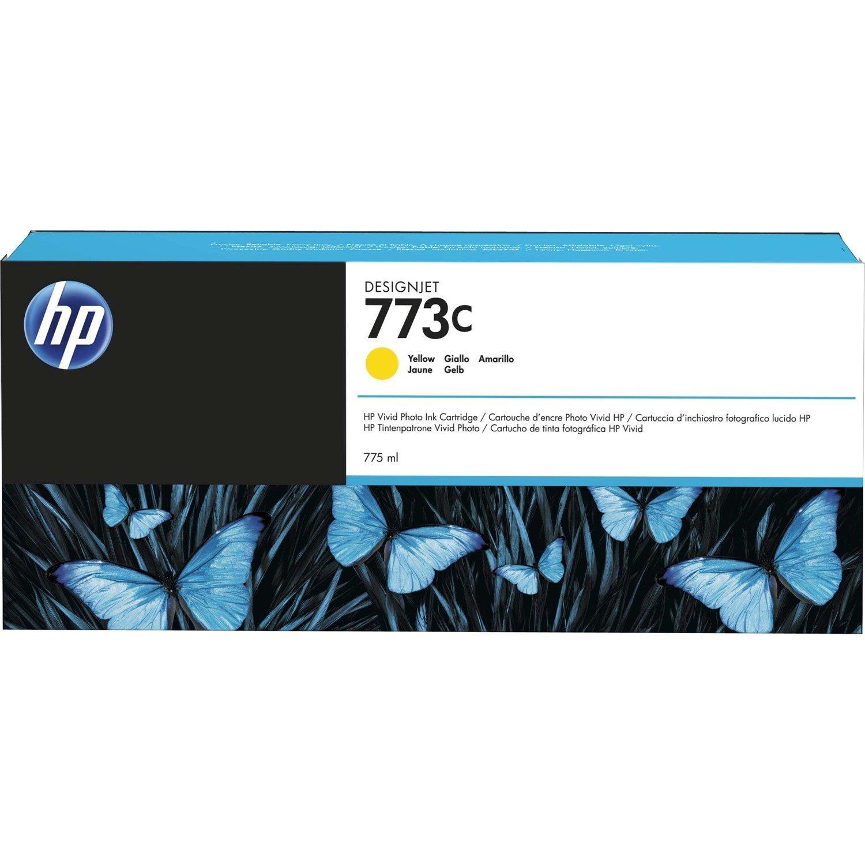 HP 764 Original Ink Cartridge - Yellow