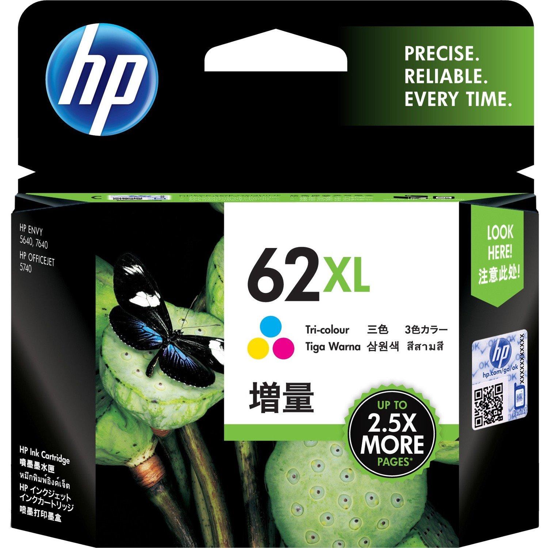 HP 62XL Ink Cartridge - Tri-colour