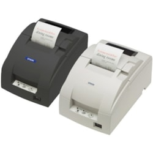 Epson TM-U220B Dot Matrix Printer - Monochrome - Dark Grey - Receipt Print