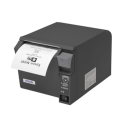 Epson TM- T70II Direct Thermal Printer - Monochrome - Dark Grey - Desktop - Receipt Print