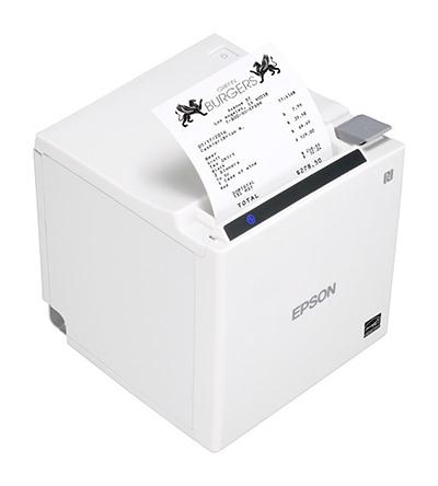 Epson TM-m30II-211 Direct Thermal Printer - Monochrome - Desktop - Receipt Print - Ethernet - USB