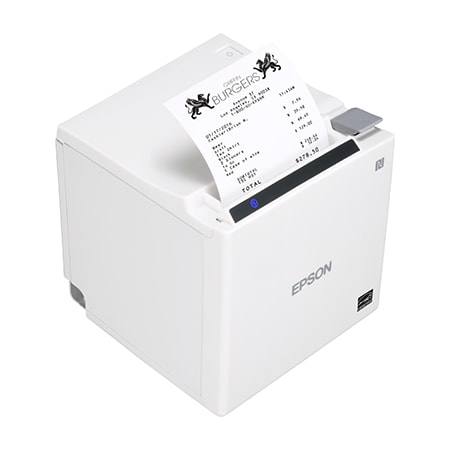 Epson TM-m30II-211 Desktop Direct Thermal Printer - Monochrome - Receipt Print - Ethernet - USB - Bluetooth - Near Field Communication (NFC)