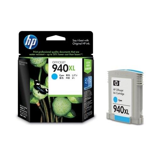 HP 940XL Original Ink Cartridge - Cyan