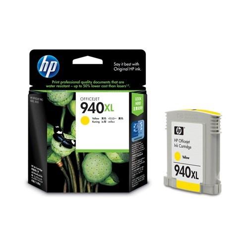 HP 940XL Original Ink Cartridge - Yellow