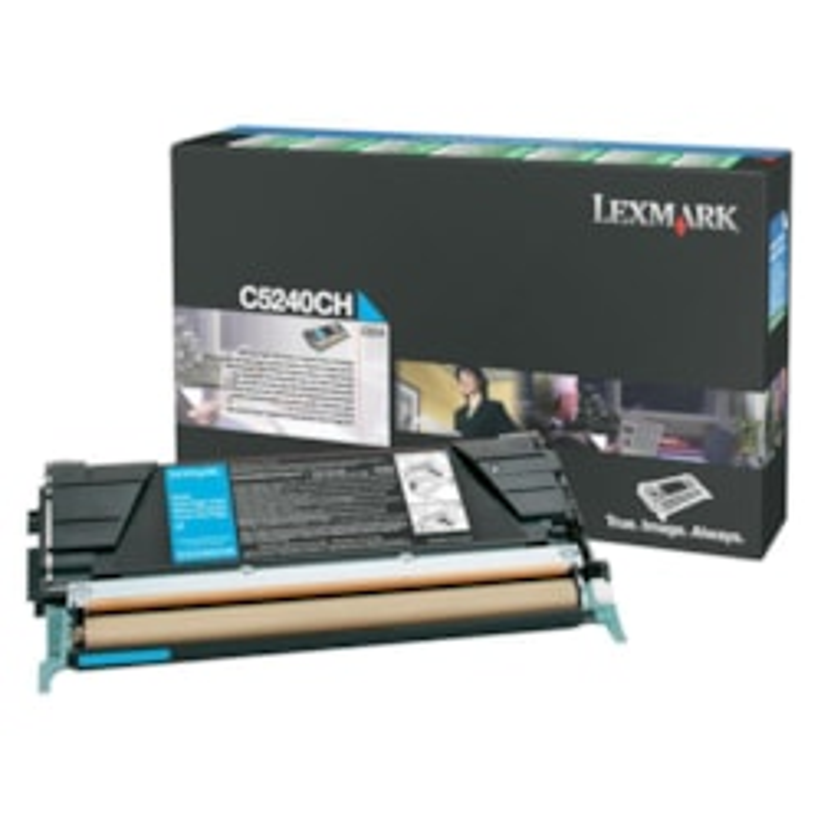 Lexmark Original Toner Cartridge - Cyan