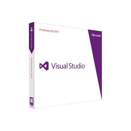 Microsoft Visual Studio 2013 Professional - Complete Product - 1 User - Standard