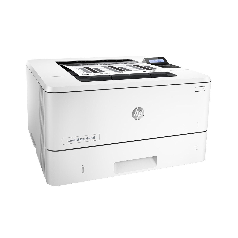 HP LaserJet Pro M402d Laser Printer - Monochrome - 1200 x 1200 dpi Print - Plain Paper Print - Desktop