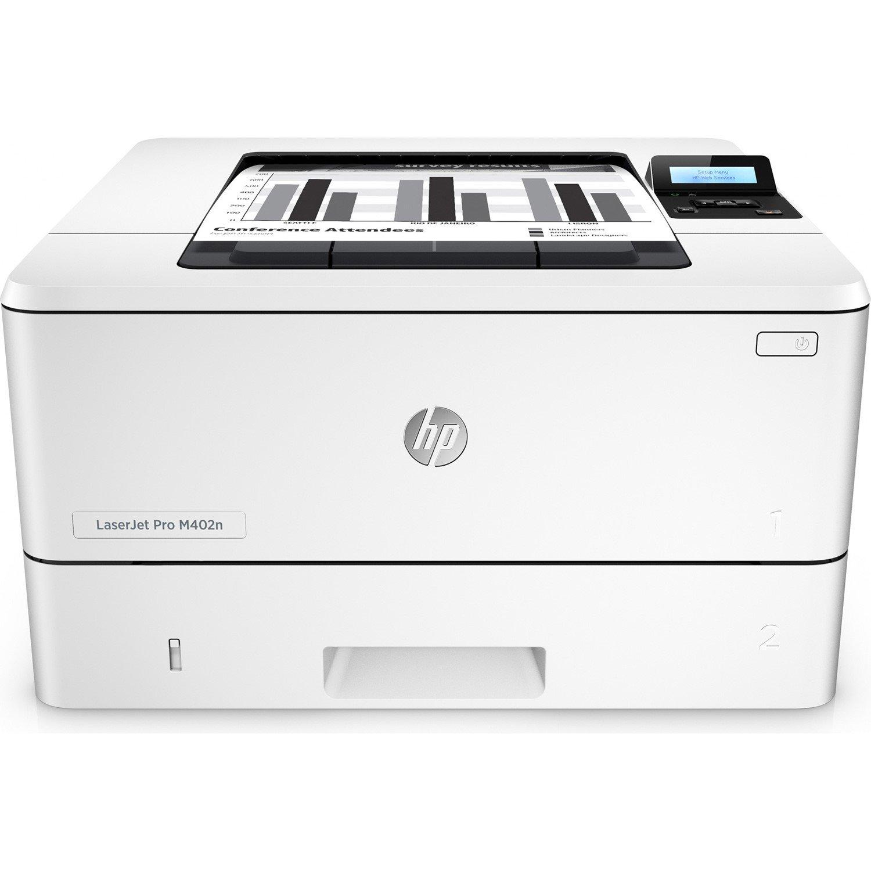 HP LaserJet Pro M402N Laser Printer - Monochrome