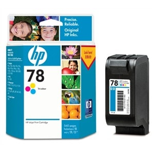 HP 78 Original Ink Cartridge - Cyan, Magenta, Yellow