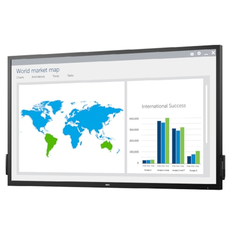 """Dell C7017T 177.8 cm (70"""") LCD Touchscreen Monitor - 16:9 - 6 ms"""