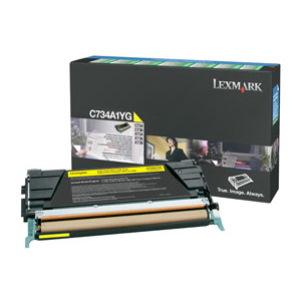 Lexmark Original Toner Cartridge - Yellow