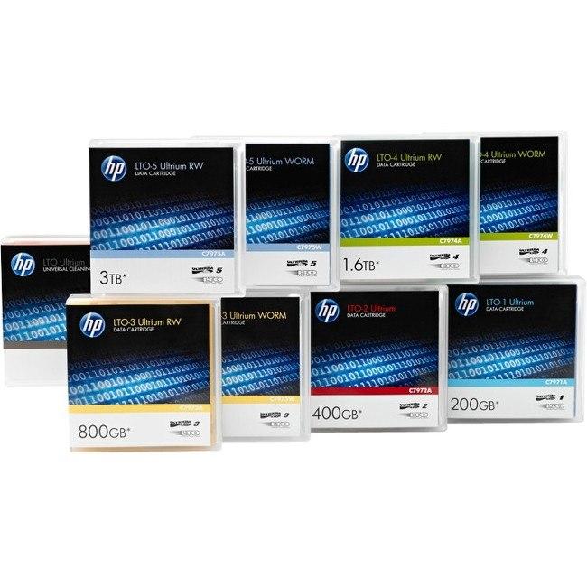 HPE Data Cartridge LTO-7 - Rewritable - Labeled - 20 Pack