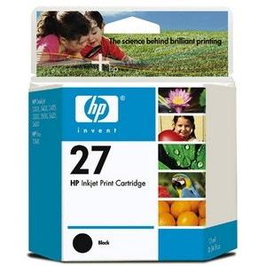 HP 27 Original Ink Cartridge - Black