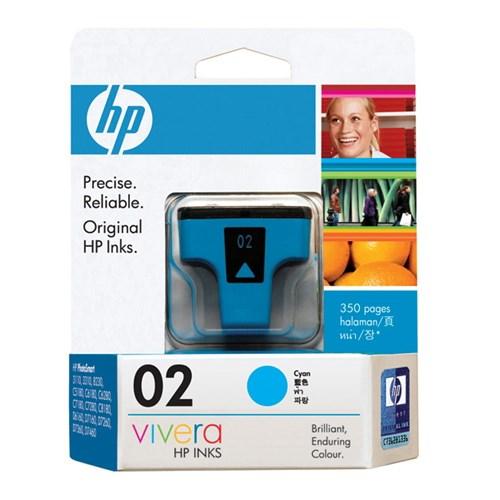 HP 2 Original Ink Cartridge - Cyan