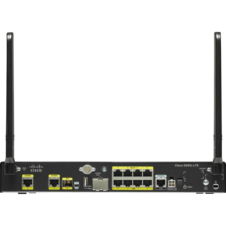 Cisco C899G-LTE Ethernet, Cellular Modem/Wireless Router