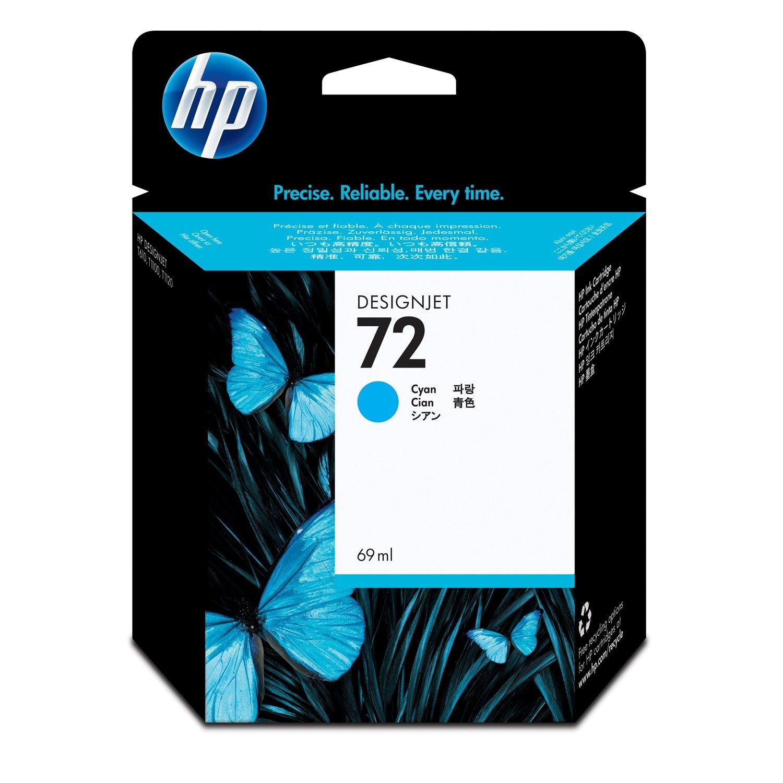 HP 72 Original Ink Cartridge - Cyan
