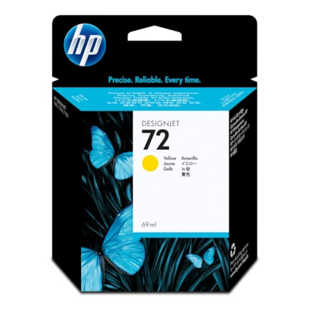 HP 72 Original Ink Cartridge - Yellow