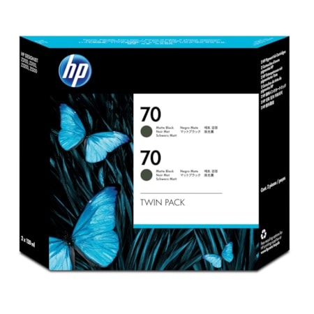HP 70 Ink Cartridge - Matte Black